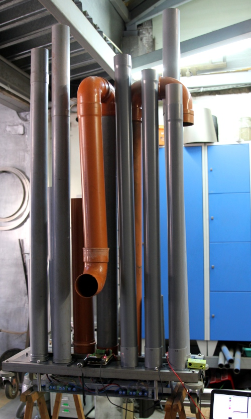 Hybrlo: An electroacoustical pipe organ by Godfried-Willem Raes